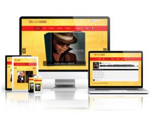 WEB – GELASE MUSIC Diseño y programación de la web de GELASE MUSIC del músico GELASE KIM. #web / #HTML5 / #CSS / #Diseño / #programación / #berth99 / #GELASEMUSIC / #GELASEKIM