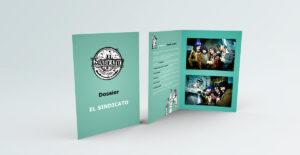 """DOSSIER – OPERACIÓN ENCARNI Diseño del artwork para el DOSSIER de la obra de Teatro """"OPERACIÓN ENCARNI"""" de la compañía El Sindicato de Sevilla (España). 2017 #gráfico / #dossier / #artwork / #berth99 / #elsindicato"""