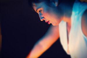 LA FELICIDAD es el deseo de repetir de Javier Berger, digirido por Elena Bolaños con Raquel Madrid de Apasionaria Teatro. Marzo 2018