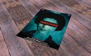 CARTEL – PERSONNE Diseño del artwork para el CARTEL de PERSONNE, Málaga (España). Enero 2015 #gráfico / #Cartel / #artwork / #berth99 / #Personne