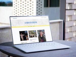 Diseño y programación de la web de la revista cultural LA ANDALUZA CREATIVA #web / #wordpress / #Diseño / #programación / #berth99 / #laandaluzacreativa