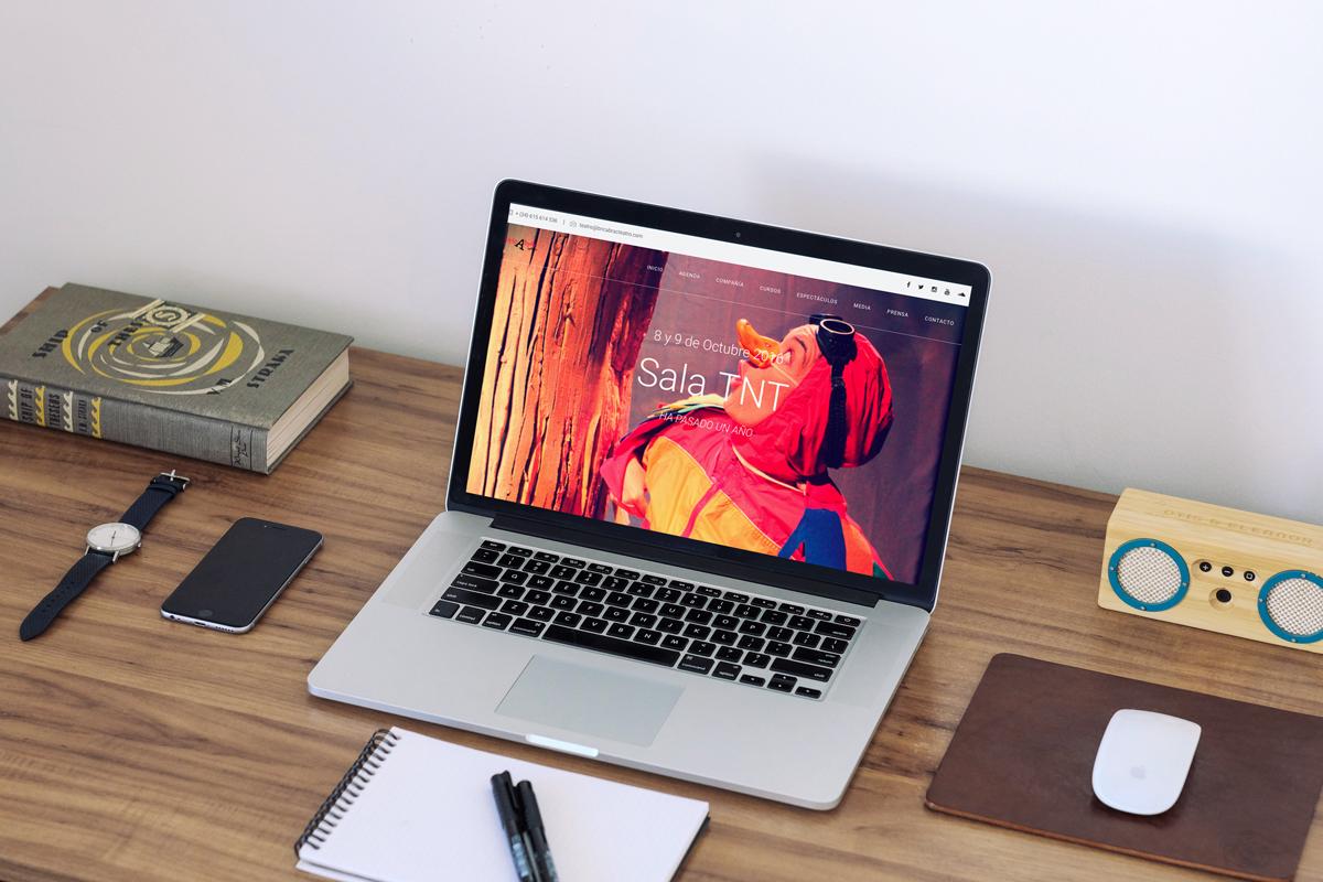 WEB – bricAbrac Teatro Diseño y programación de la nueva web de la compañía de teatro bricAbrac Teatro.
