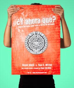 CARTEL - Y AHORA QUÉ 2014 Diseño del Cartel Y AHORA QUÉ 2014 de la compañía bricAbrac Teatro, Sevilla (España). #gráfico / #Cartel / #artwork / #berth99 / #bricAbracTeatro / #YAHORAQUÉ