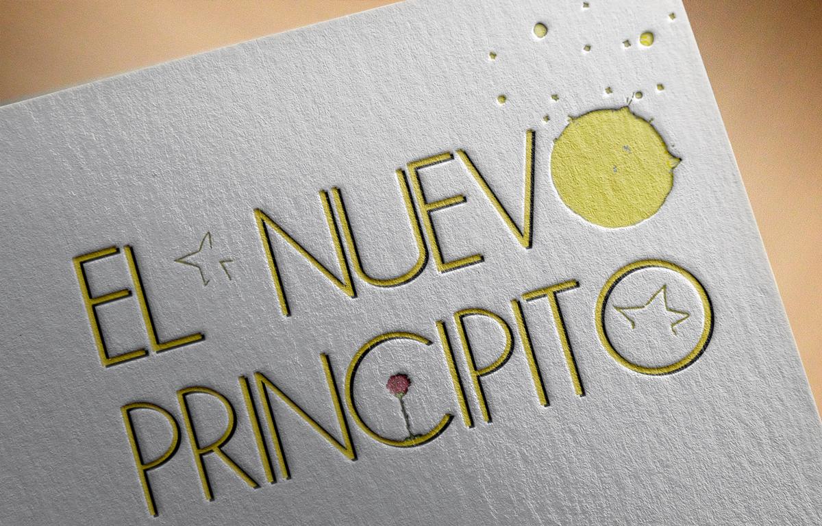 Diseño del logo de EL NUEVO PRINCIPITO de bricAbrac Teatro en Sevilla. (España). Diciembre 2020. #gráfico / #cartel / #Diseño / #promoción / #bricAbracTeatro / #teatro