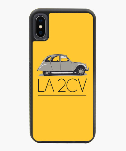 FUNDA IPHONE X / XS LA 2CV GRIS